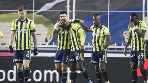 Fenerbahçe Gol Sevinci 18 Ocak 2021