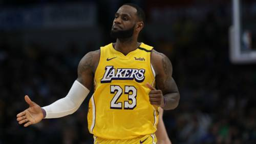 LeBron James Dallas Mavericks Los Angeles Lakers 11012020