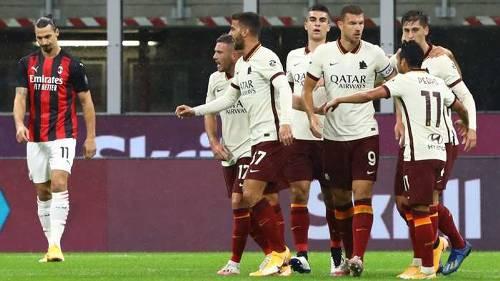 Milan Roma Serie A 10272020