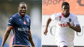 Demba Ba Caleb Ekuban Başakşehir Trabzonspor kolaj