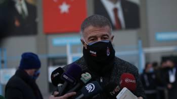 Ahmet Ağaoğlu Trabzonspor 14 Mart 2021