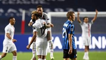 PSG Atalanta Neymar gol sevinci