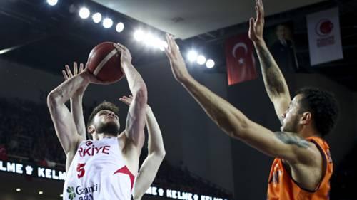 Türkiye Hollanda Basketbol 02212020