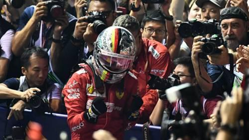 Sebastian Vettel Ferrari Singapore GP 09222019
