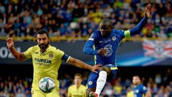 N'Golo Kante Chelsea Villarreal 2021-22