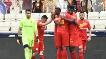 Yeni Malatyaspor Gol Sevinci 17 Nisan 2021