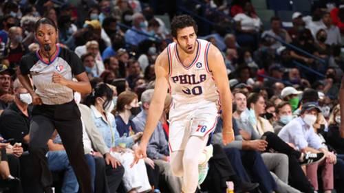 Furkan Korkmaz Philadelphia 76ers NBA 20 Ekim 2021