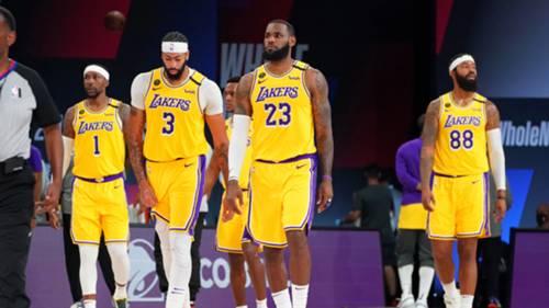 Los Angeles Lakers 25 Eylül 2020