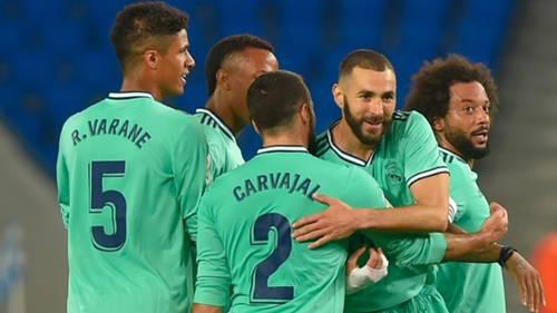 Real Sociedad Real Madrid 21062020