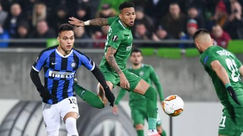 Ludogorets v Inter 02202020