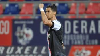 Cristiano Ronaldo Bologna Juventus 22062020
