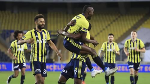 Fenerbahçe gol sevinci Samatta 25 Ocak 2021