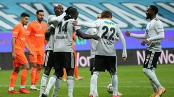Besiktas gol sevinci Başakşehir