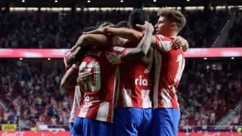 Atletico Madrid Gol Sevinci 21 Eyül 2021