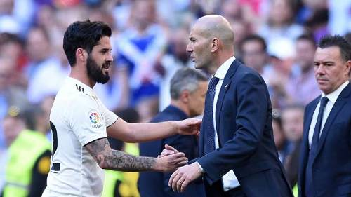 Isco Zidane Real Madrid 2019