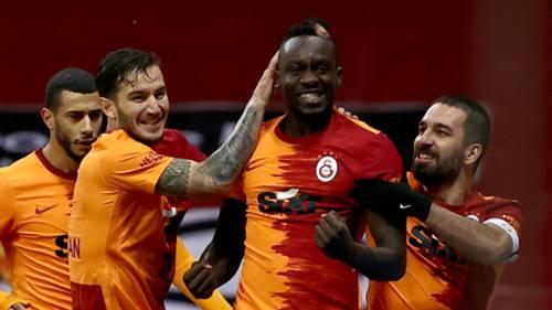 mbaye diagne galatasaray gol sevinci 09 ocak 2021