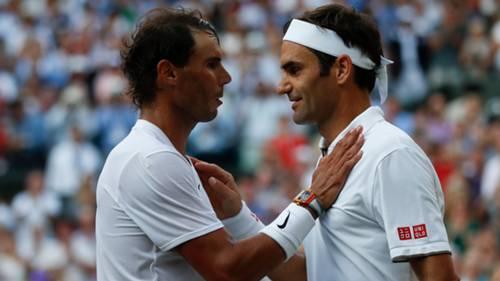 Roger Federer Rafael Nadal Tenis