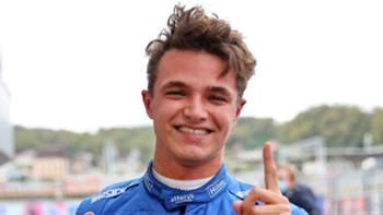 Lando Norris McLaren F1 2021