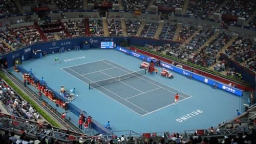China Open Tennis Court