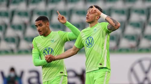 Wolfsburg gol sevinci 08112020