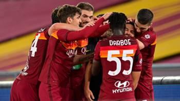 Roma Gol Sevinci 15 Mayıs 2021
