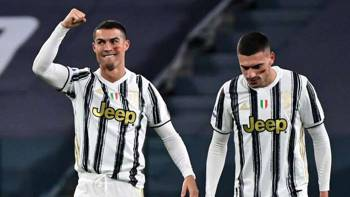 Cristiano Ronaldo Merih Demiral Juventus 11212020