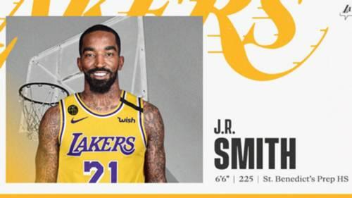 Jr Smith LA Lakers
