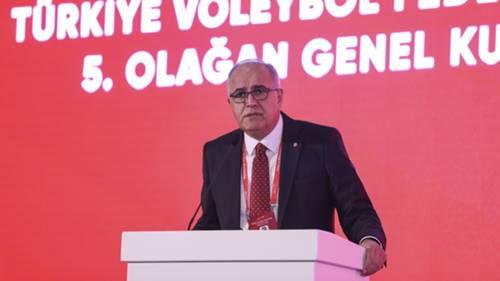 Mehmet Aktif Üstündağ Türkiye Voleybol Federasyonu 26 Ekim 2021