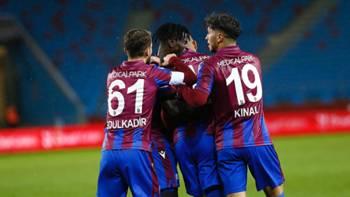 Trabzonspor gol sevinci 16 Aralık 2020 ZTK