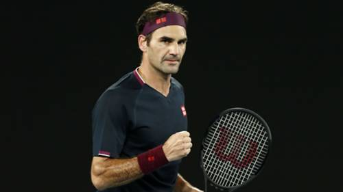 Roger Federer John Millman 24012020