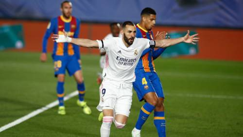 Real Madrid Karim Benzema 10 Nisan 2021