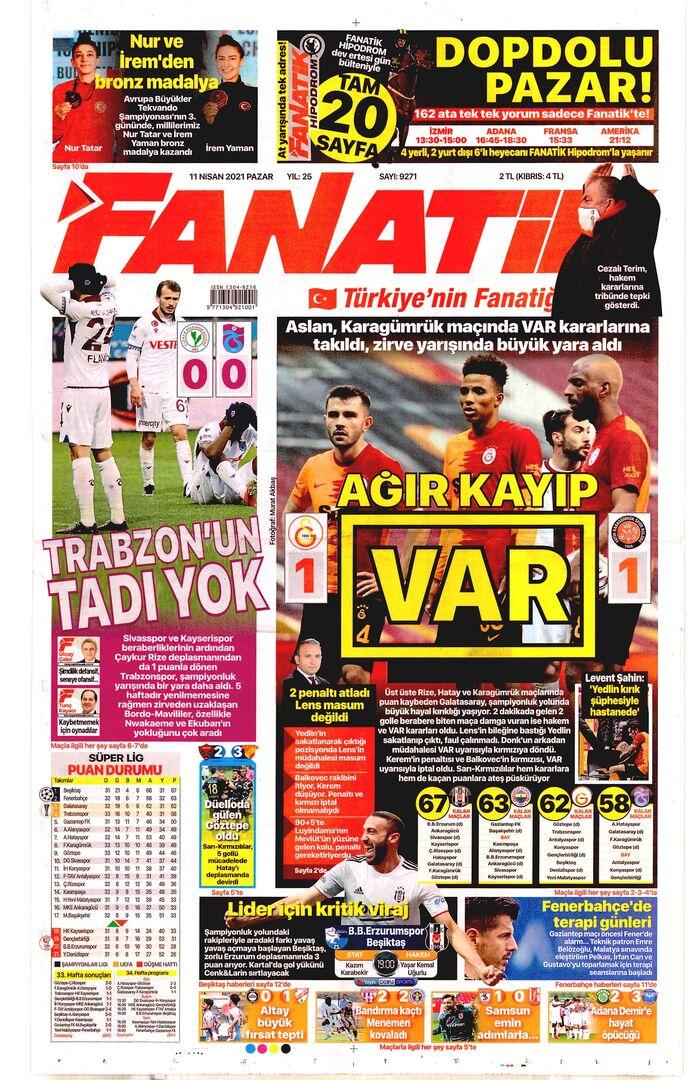Fanatik 11Nisan2021