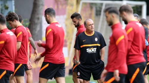 Fatih Terim Galatasaray antrenman 21 Haziran 2021