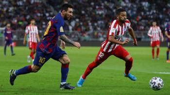 Messi Lodi Barcelona Atletico Madrid 2019-20