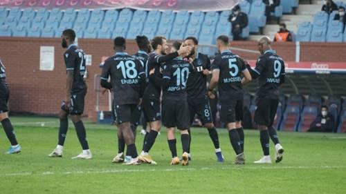 trabzonspor gol sevinci 06 ocak 2021