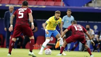 Neymar Brezilya - Venezuela Copa America 2021
