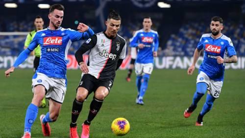 Napoli v Juventus 01262020