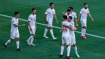 ispanya gol sevinci 23haziran2021