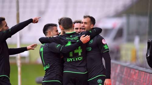 Konyaspor Gol Sevinci 13 Ocak 2021
