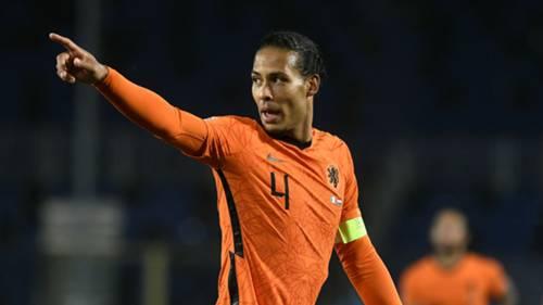 Virgil van Dijk Hollanda 2020