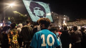Diego Maradona taraftarlar matem yas