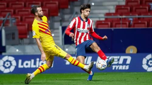 Barcelona Atletico Madrid 2020-21