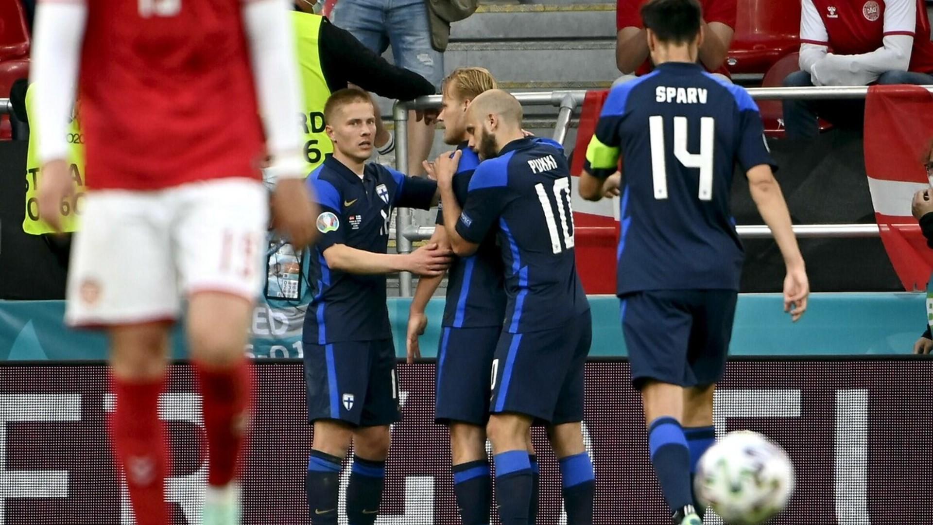 Finlandiya Gol Sevinci 12 Haziran 2021