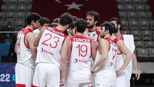 Türkiye A Milli Basketbol Takımı 12 Dev Adam Şubat 2021
