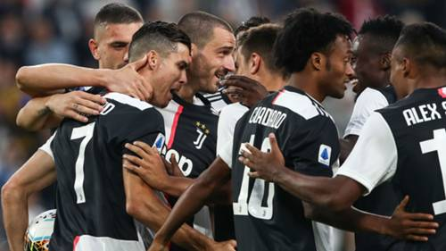 Juventus Verona Gol Sevinci 09212019