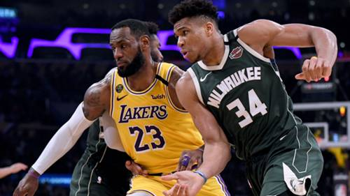 Lebron James Giannis Antetokounmpo 03072020