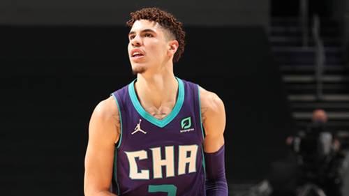 LaMelo Ball Charlotte Hornets 10 Ocak 2021