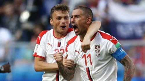 adem ljajic aleksandar kolarov serbia 2018