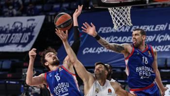 Anadolu Efes - Real Madrid Basketbol 22 Nisan 2021