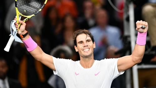 Rafael Nadal Paris Masters 31102019